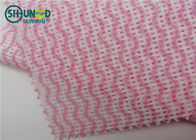 Viscose Polyester Spunlace Nonwoven Fabric For Wet Wipes Cleaning Cloth