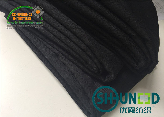 Fusible Interlining for Apparel Industry 140gsm heavy weight interlining