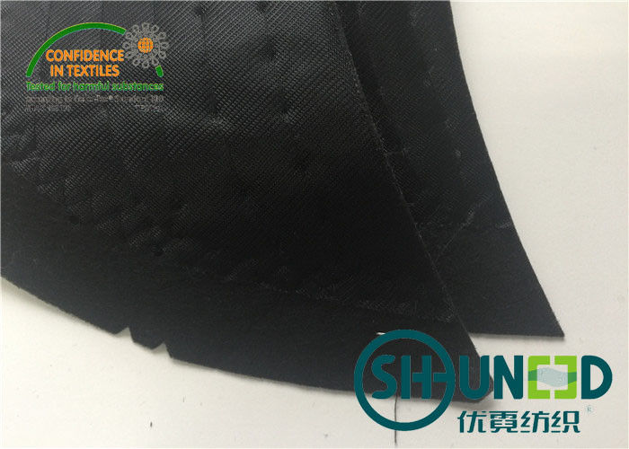 Mens Sewing Shoulder Pads / Padding With Knit Fabric For Business Casual Suit