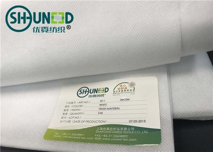 Fresh Material 100% PP Non Woven Polypropylene Fabric For Medical Industry