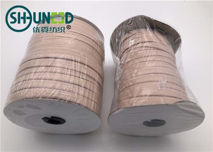 Customized Nude Garments Accessories Polyester Silicone Drip Elastic Tape