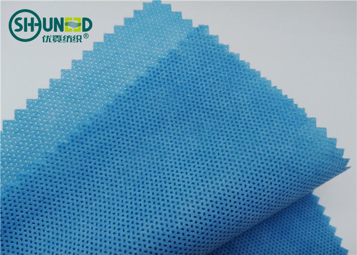 Meltblown Polypropylene PP Spunbond Non Woven Fabric For Surgical Gown / Drape