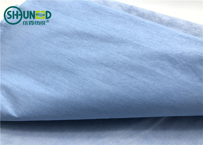 One Layer Woodpulp Nonwoven Compound One Layer Polyester Waterproof For Hospital Covering Cloth