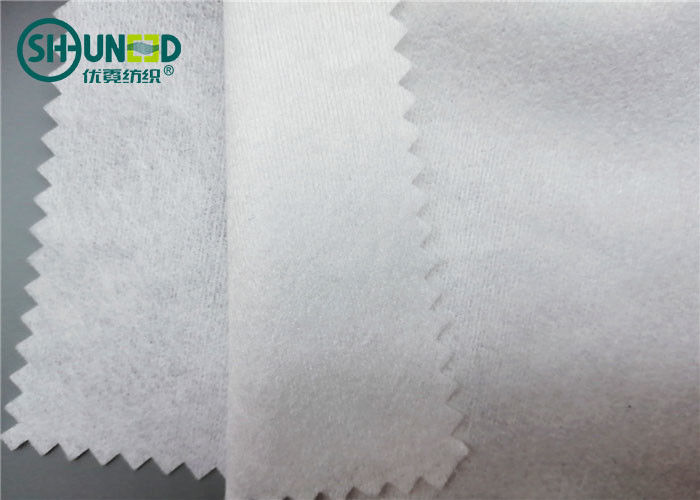 Facial Mask 100% Viscose White Non Woven Fabric Parallel Structure Eco Friendly