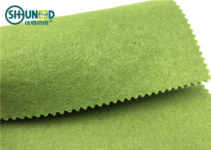 Eco - Friendly Non Woven Polyester Felt Tear Resistant For Craft 300gsm