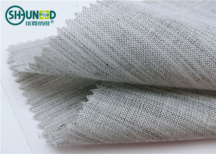 Washable Long Hair Interlining Horsehair Lining Knitted Polyester Material