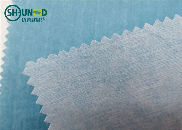 Wood Pulp / Polyester Laminated Spunlace Nonwoven Fabric For Medical Bed Sheets